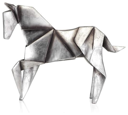 Origami Horse modern-artwork