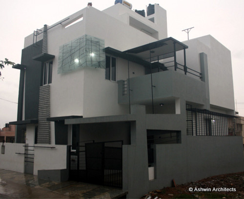 Arun aravind 39 s home design residential construction at for House outer wall design