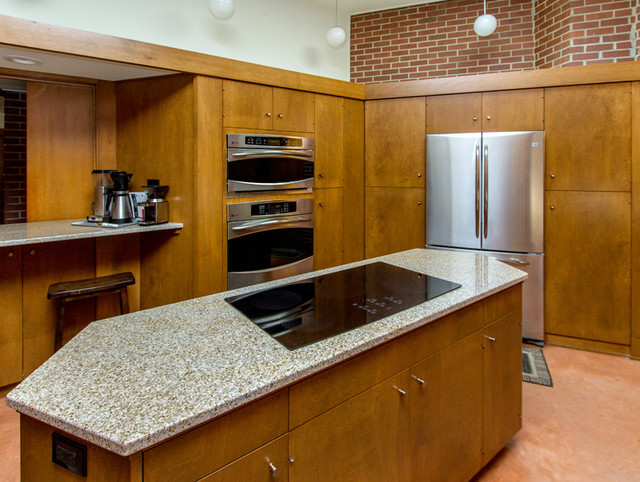 """""""Usonian"""" Style Whole House Remodel - Modern - other metro - by Silent Rivers Design+Build"""