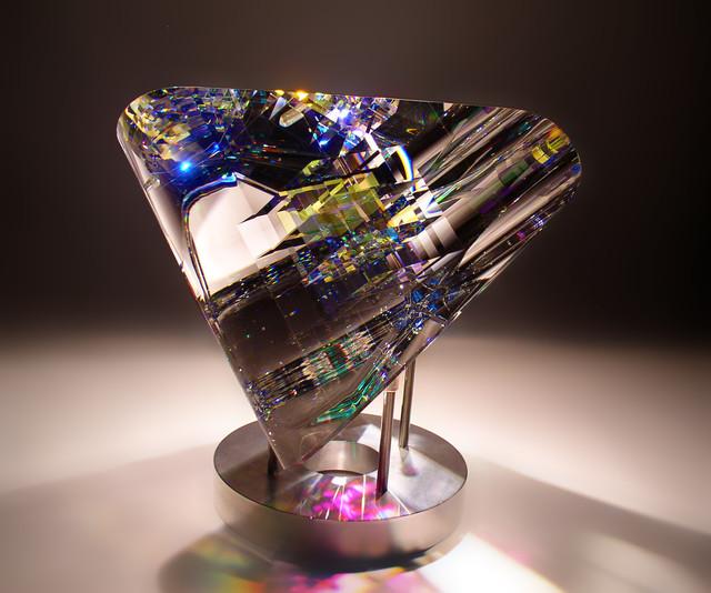 Mobius Fine Art Glass Art Sculpture By Glass Artist Jack