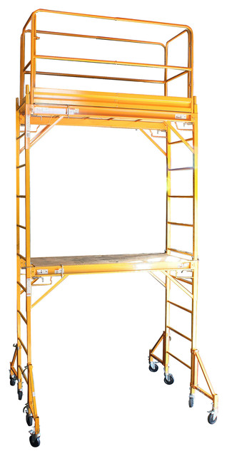 Pro-Series Two Story Rolling Scaffold Tower - Modern - Garage And Tool Storage - by Beyond Stores