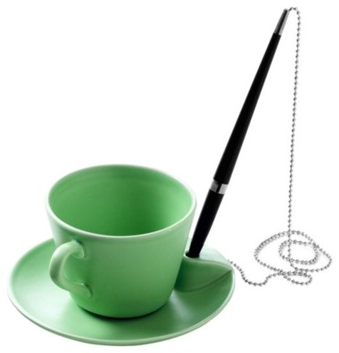Poem Cup and Saucer by Design House Stockholm modern-mugs