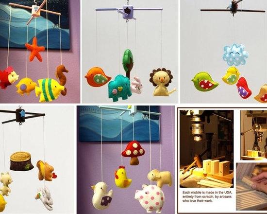 Animal Mobiles Unique Nursery Decor -