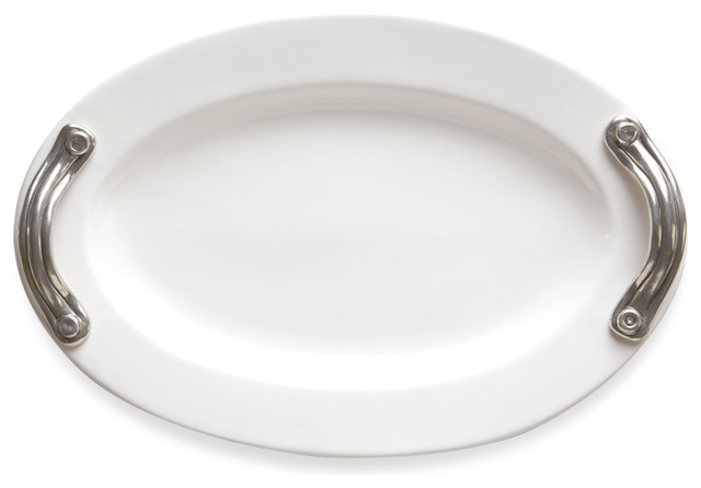 Tuscan Oval Platter traditional-serving-dishes-and-platters