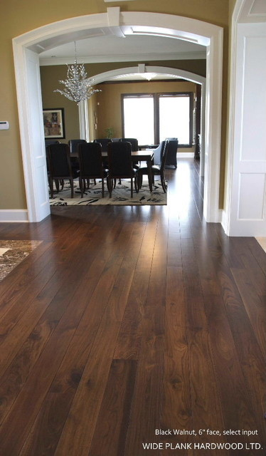 BLACK WALNUT - modern - wood flooring - vancouver - by Wide Plank ...