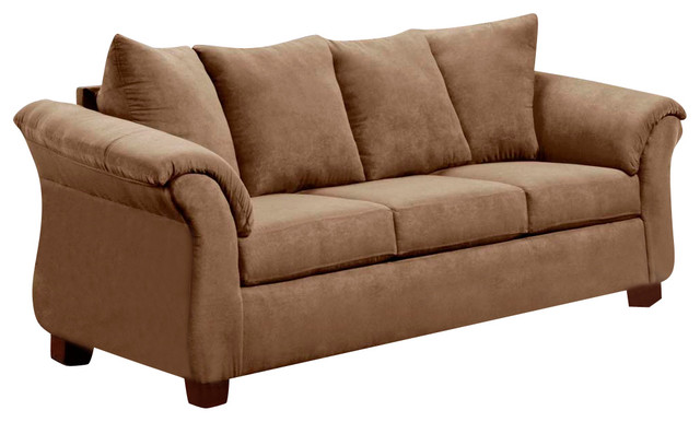 Chelsea Home Kiersten Sofa In Victory Lane Taupe