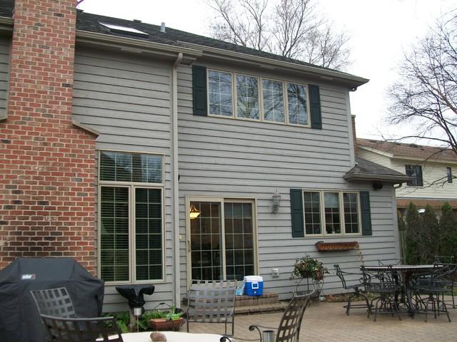 Back Porch Addition in La Grange traditional