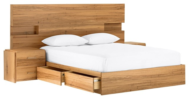 Amelie Bedhead With Light Modern Headboards By