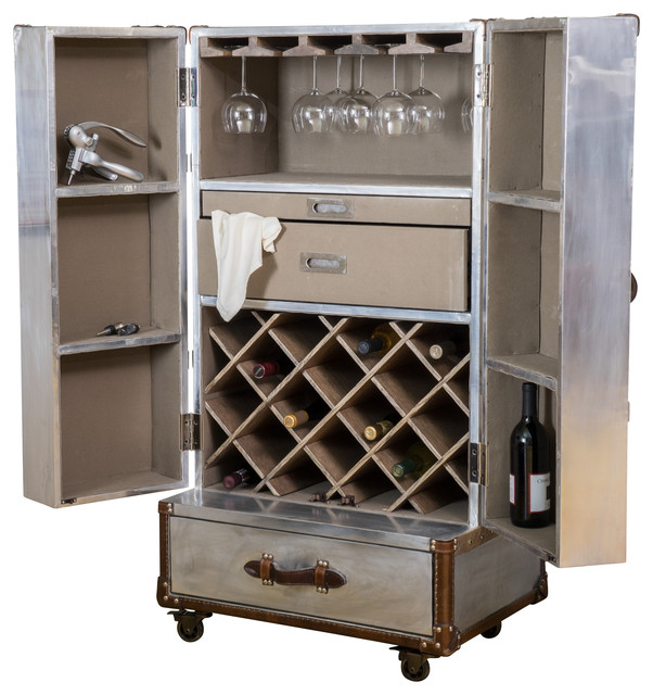 ... Cabinet - Industrial - Wine And Bar Cabinets - by Great Deal Furniture