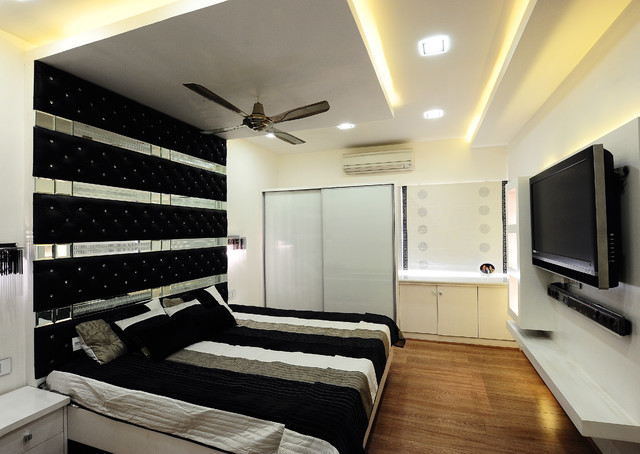 Modern Apartment - Contemporary - Bedroom - other metro ...