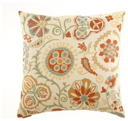 Molina 24 x 24 Decorative Pillow - Modern - Decorative Pillows - by Bellacor