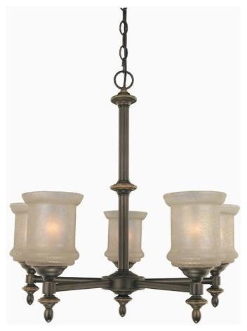 5 Light Vashon Chandelier modern-chandeliers