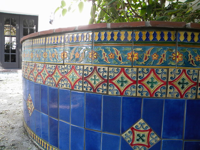 Tiles for swimming pools fountains patios and stairways Swimming pool decorative tiles