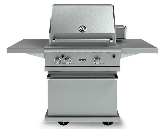 "Viking 30"" Bbq Cart For 500 Series Grill, Stainless Steel 