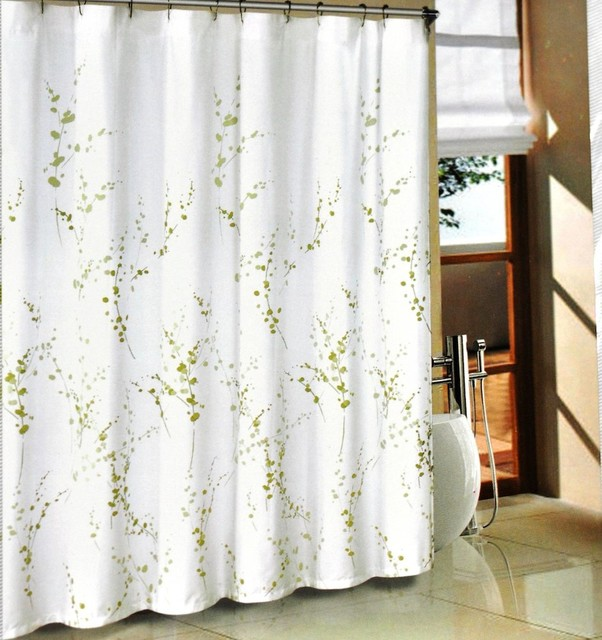 modern green kitchen curtains