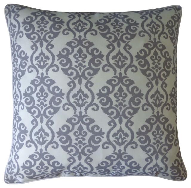Luminari Grey Pillow, Large - Contemporary - Decorative Pillows - by Jiti