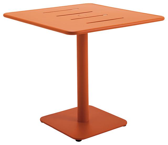 Gloster Nomad Square 90cm Pedestal Dining Table Modern