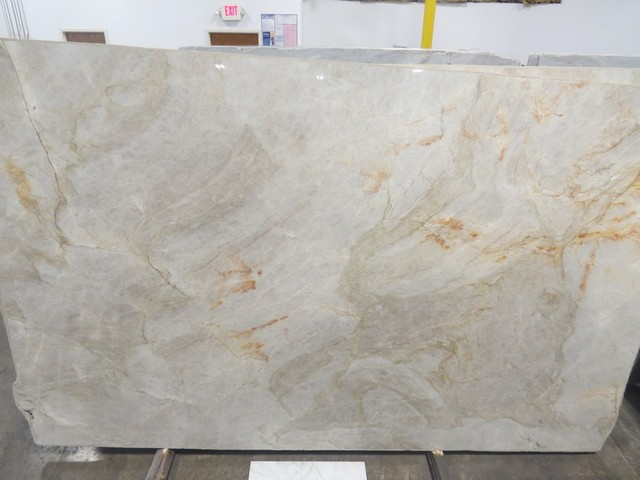 Taj Mahal Quartzite - Modern - Kitchen Countertops - atlanta - by Stone Center