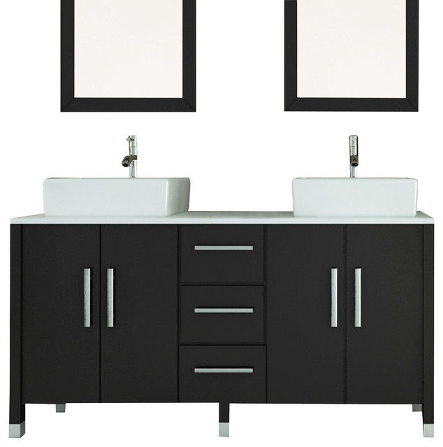Sink Modern Bathroom Vanity With Phoenix Stone Top Modern Bathroom