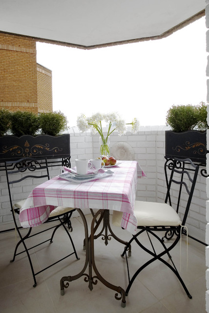 Balcony small Chelsea Apartment - eclectic - patio - london - by ...