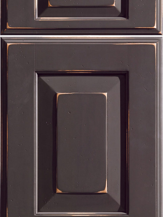 """Dura Supreme Cabinetry - Dura Supreme Cabinetry Bella Cabinet Door Style - Dura Supreme Cabinetry """"Bella"""" cabinet door style in Maple shown in Dura Supreme's """"Country Traditions M"""" finish."""