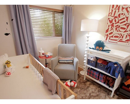 Featured Nursery Alphabet Wood Letters on Property Brothers - Photo by: W Network, Property Brothers