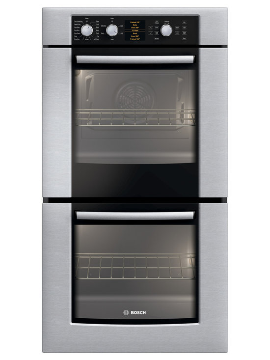 "Bosch 27"" 500 Series Double Wall Oven, Stainless Steel 