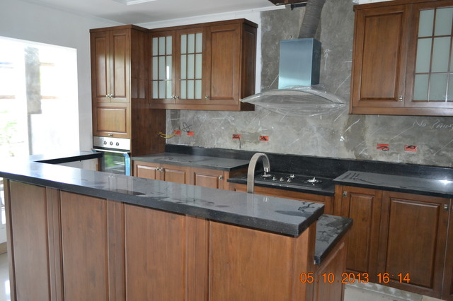 modular kitchen cabinets boracay island philippines beach style kitchen cabinetry other