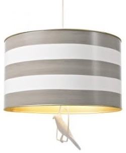 Canary  Pendant (Gray) contemporary 