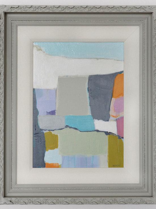 "aerial escape - reckoning by Jamie Van Landuyt. 28"" x 34.5"" acrylic/oil pastel/graphite on canvas"