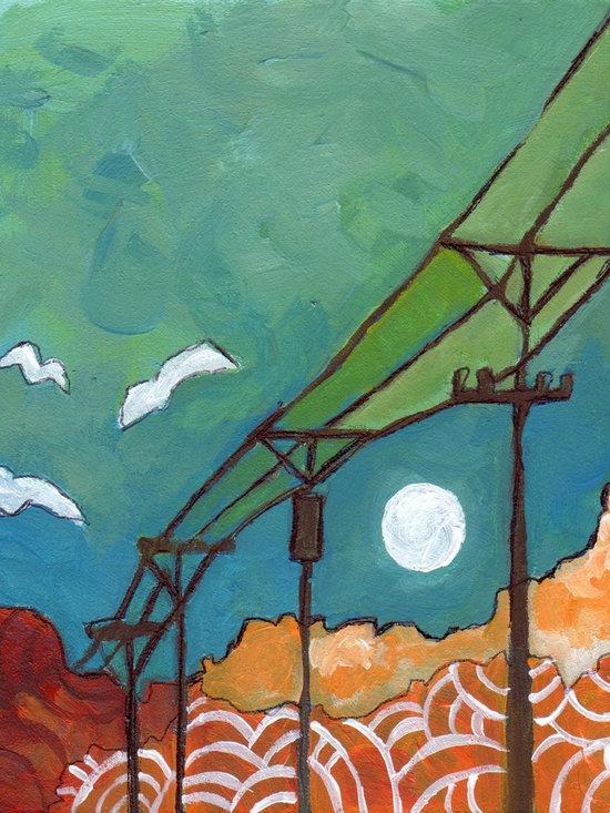 Powerline Painting -