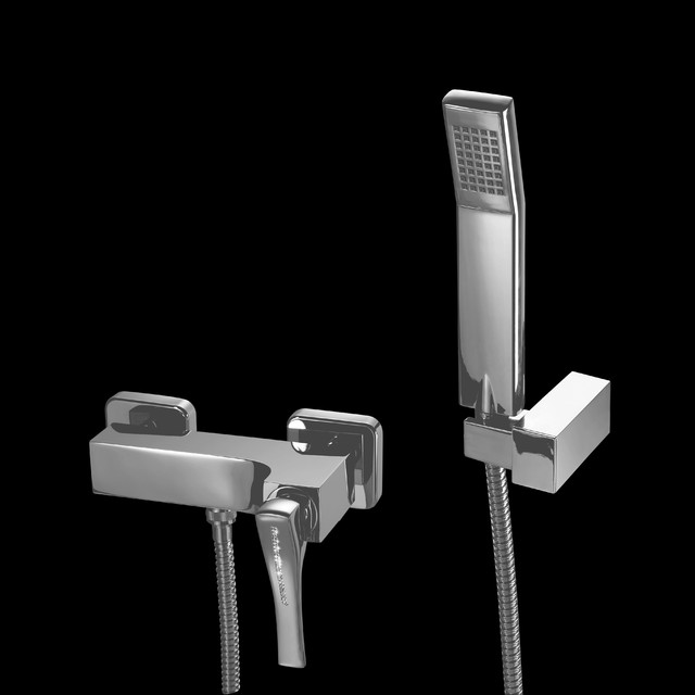Macral Design shower faucet with swarovski crystal. contemporary-bathroom-faucets-and-showerheads