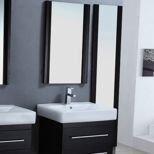 Simple Hanging A Fulllength Mirror On The Back Of Your Bathroom Door Requires A Little Bit Of Planning Most Interior Doors Are Hollow Doors There Is Nothing But Air Between Two Small Pieces Of Plywood Normal Screws Will Not Support The Weight