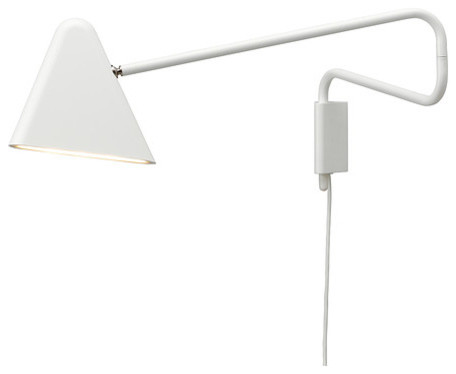 Modern White Wall Sconces : Ikea PS 2012 LED Wall Lamp, White - Modern - Wall Sconces - by IKEA