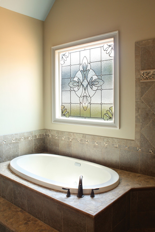 Can this type of window be made to be waterproof in a shower for Decorative window glass types