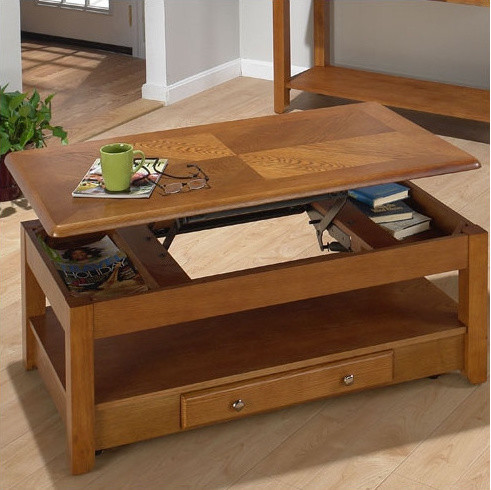 Tucson Coffee Table with Lift-Top modern coffee tables