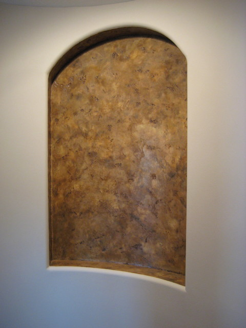 Niches - Italian Finishes - Bella Faux Finishes modern-hall