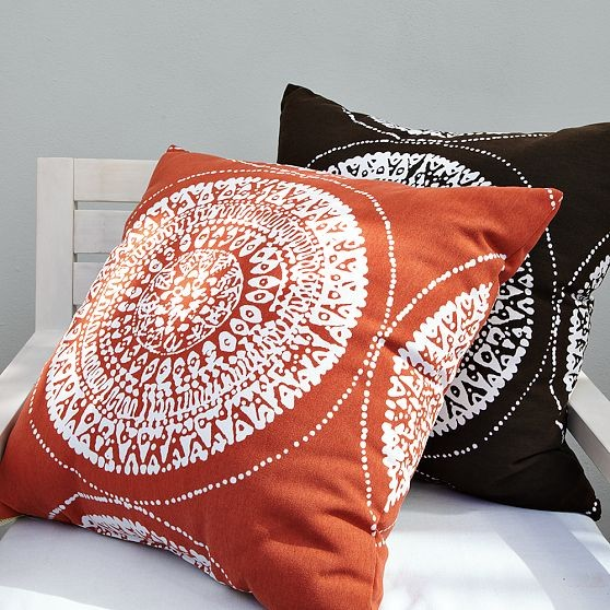 All Modern Outdoor Pillows : Sundial Outdoor Pillow - Modern - Outdoor Cushions And Pillows - by West Elm