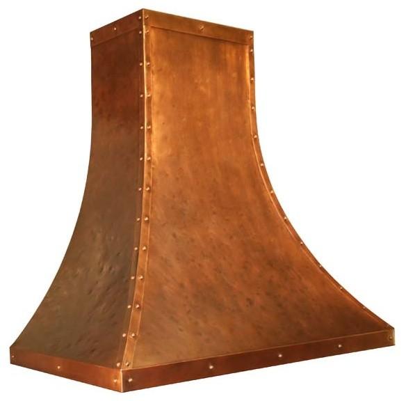 Copper Range Hood | Traditional Sweep | Vogler range-hoods-and-vents