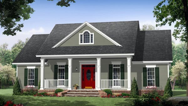 House plan 59952 at by family home plans for Family homeplans com