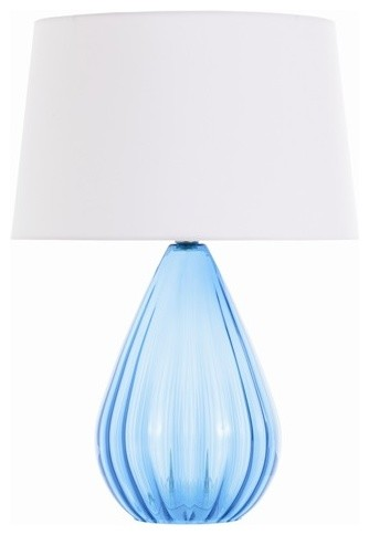 Capulin Aqua Lamp contemporary-table-lamps