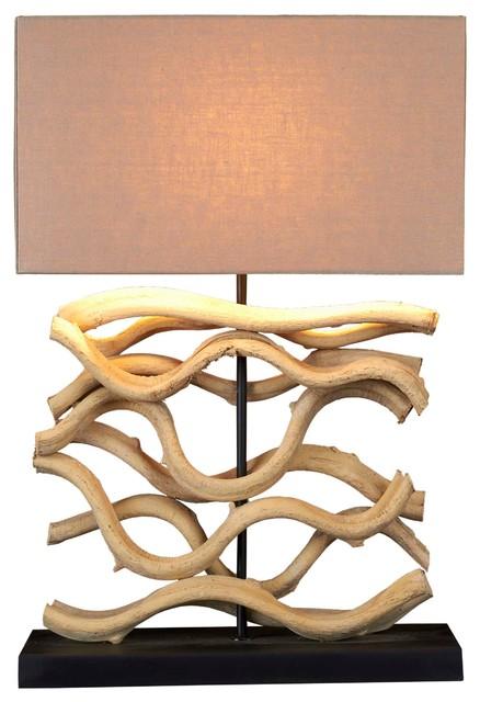 Beach Style Table Lamps on Houzz