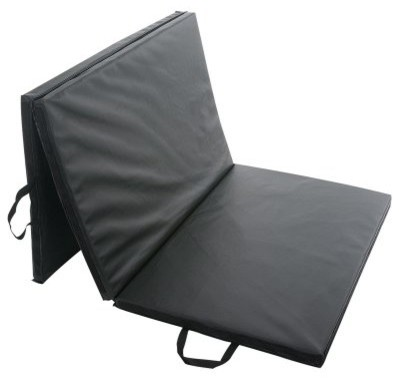 Sunny Health & Fitness Folding Gym Mat modern-bath-mats