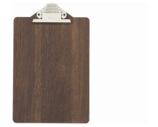 Ferm Living Clipboard - Do your notes on the cool Clipboard by Ferm Living, made in smoked oak. Clip, clip, clip…