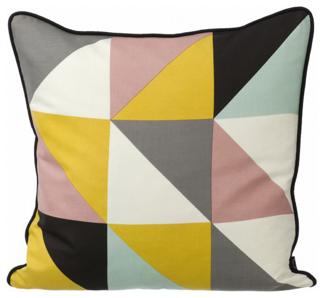 Remix Pillow, Yellow contemporary-decorative-pillows