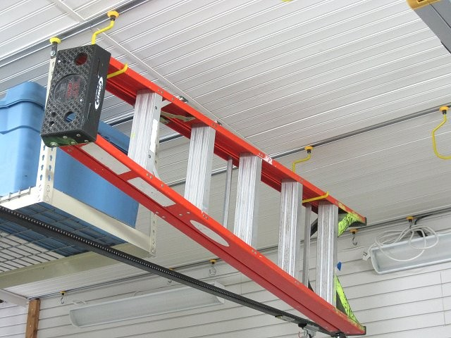 Ceiling Ladder Storage Kit Garage And Shed London By