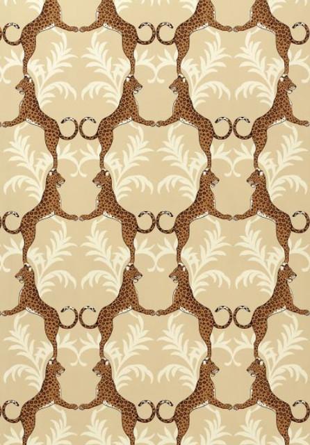 Cheetah Wallpaper eclectic-wallpaper