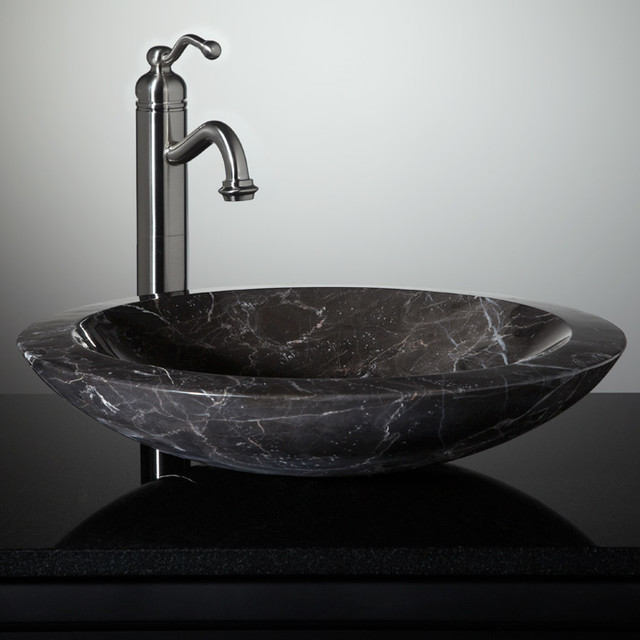 New stone vessel sinks eclectic bathroom sinks for Latest bathroom sinks