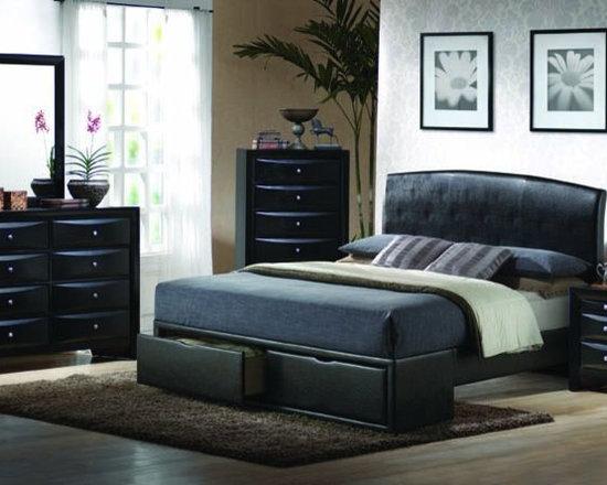 Bedrooms Furniture - Casual Master Bedroom Set