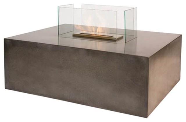 The Bio Flame Blocco Bio-Ethanol contemporary-indoor-fireplaces